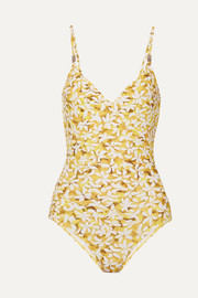 On The Island By Marios Schwab Asterias floral-print swimsuit