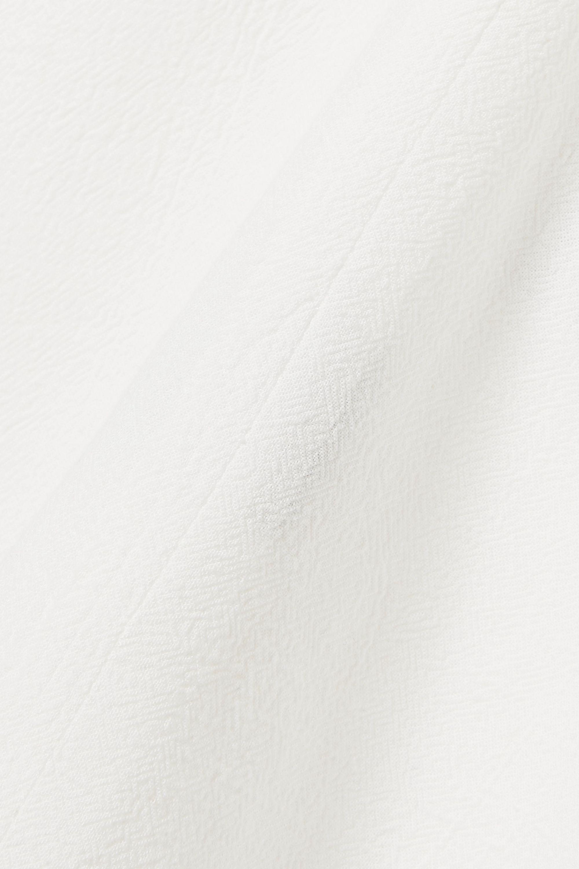 Albus Lumen Petram textured-cotton top