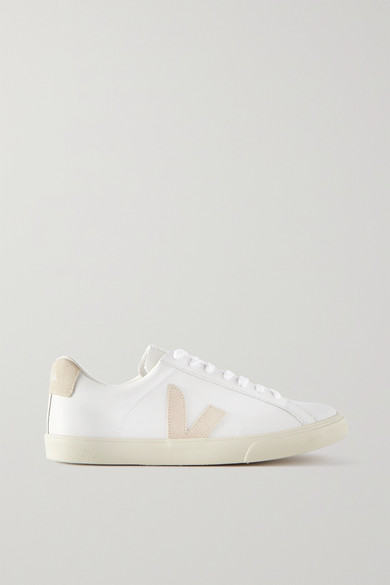 Esplar Leather And Suede Sneakers by Veja