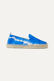 Manebi Tie-dyed leather espadrilles