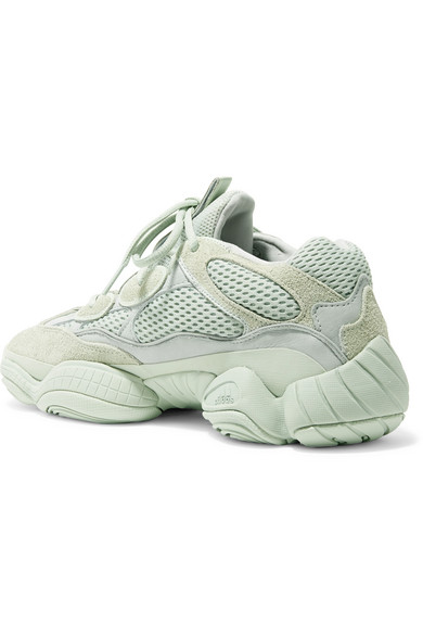 lowest price 1f707 71a9b Yeezy 500 leather, suede and mesh sneakers