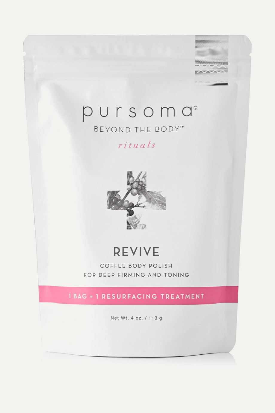 Pursoma Revive Coffee Body Polish, 113g