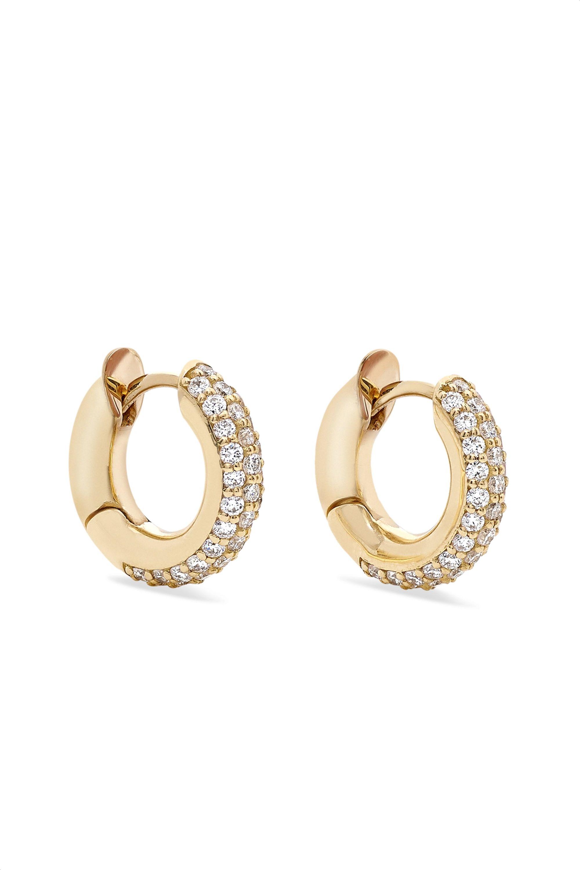 Spinelli Kilcollin Casseus 18-karat gold diamond earrings