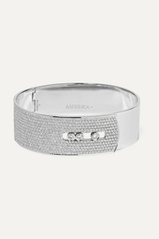 Messika Move Noa 18-karat white gold diamond bangle