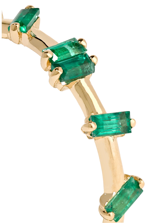 Suzanne Kalan Ring aus 18Karat Gold mit Smaragden