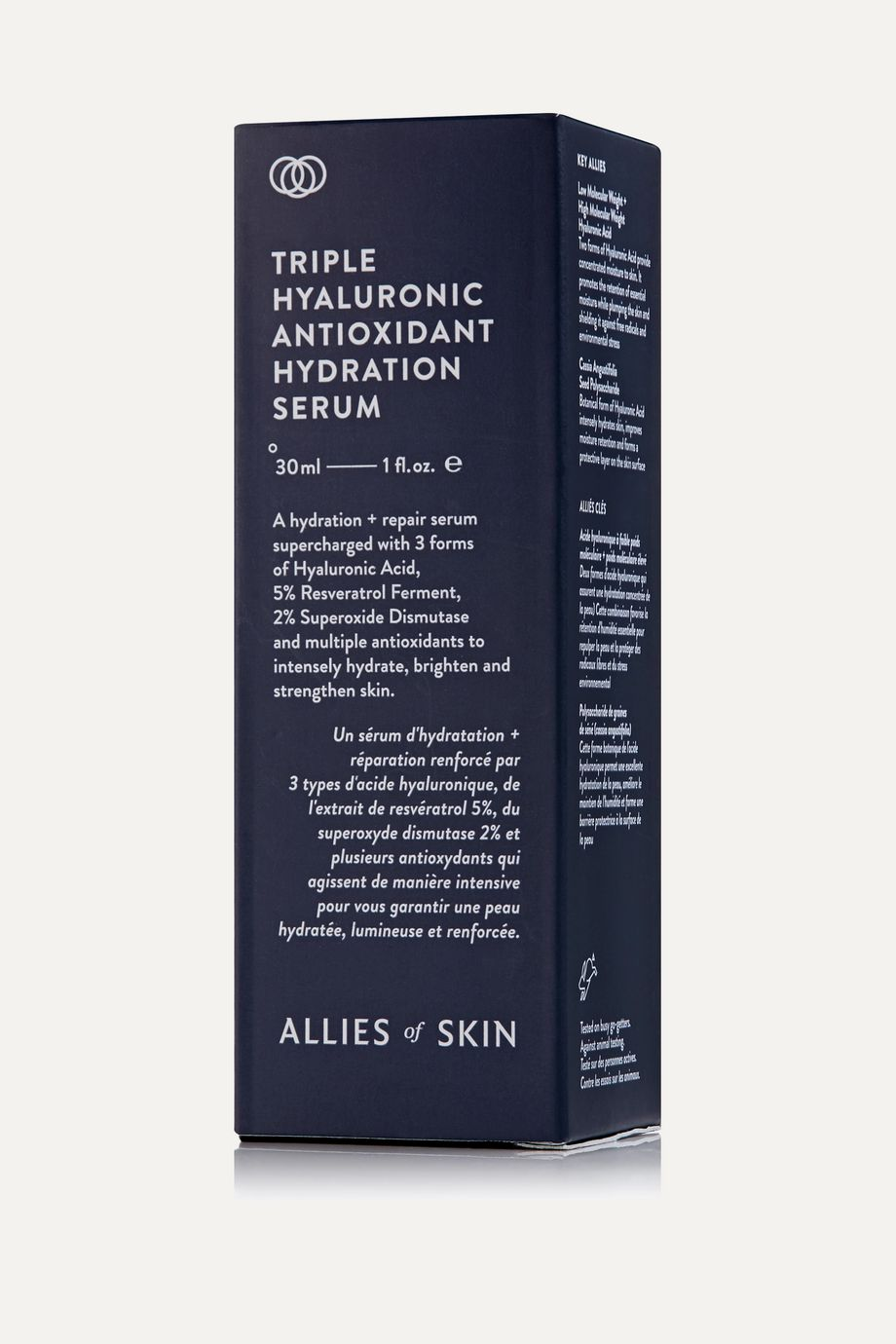 Allies of Skin Triple Hyaluronic Antioxidant Hydration Serum, 30ml