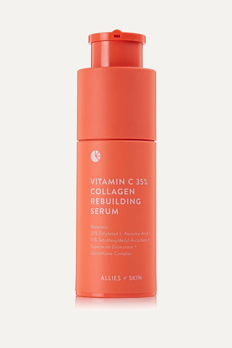 Allies of Skin Vitamin C 35% Collagen Rebuilding Serum, 30ml