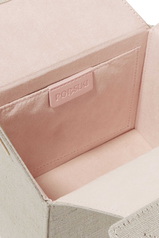 Pop & Suki Takeout linen shoulder bag