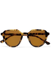 Dries Van Noten D-frame tortoiseshell acetate sunglasses