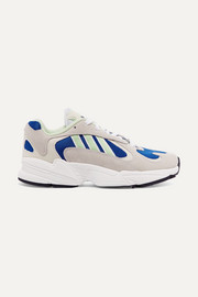 adidas Originals Yung-1 mesh and nubuck sneakers