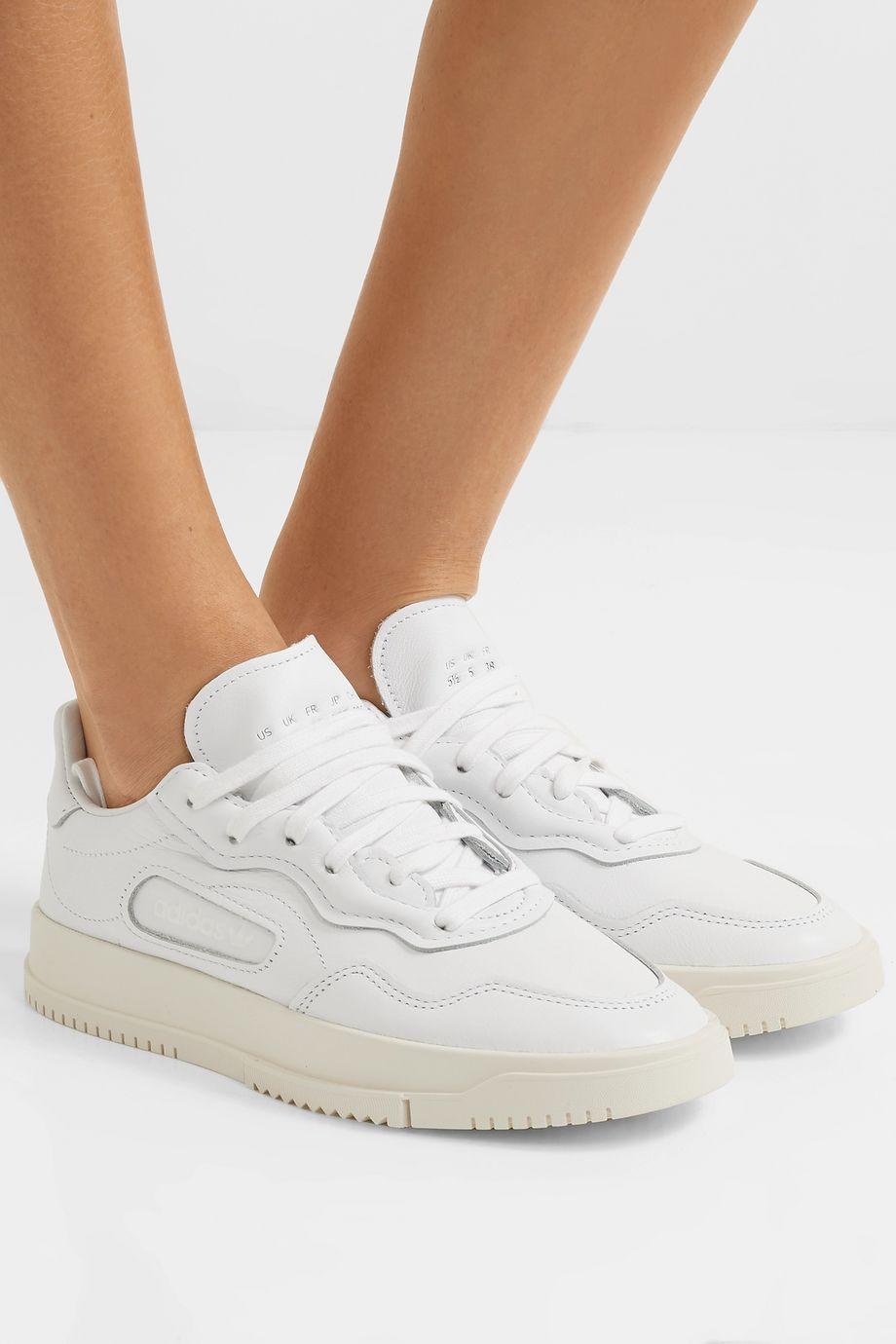 adidas Originals SC Premiere Sneakers aus strukturiertem und Nubukleder