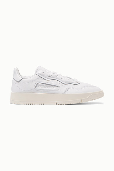 sold worldwide lovely luster retail prices SC Premiere textured-leather and nubuck sneakers