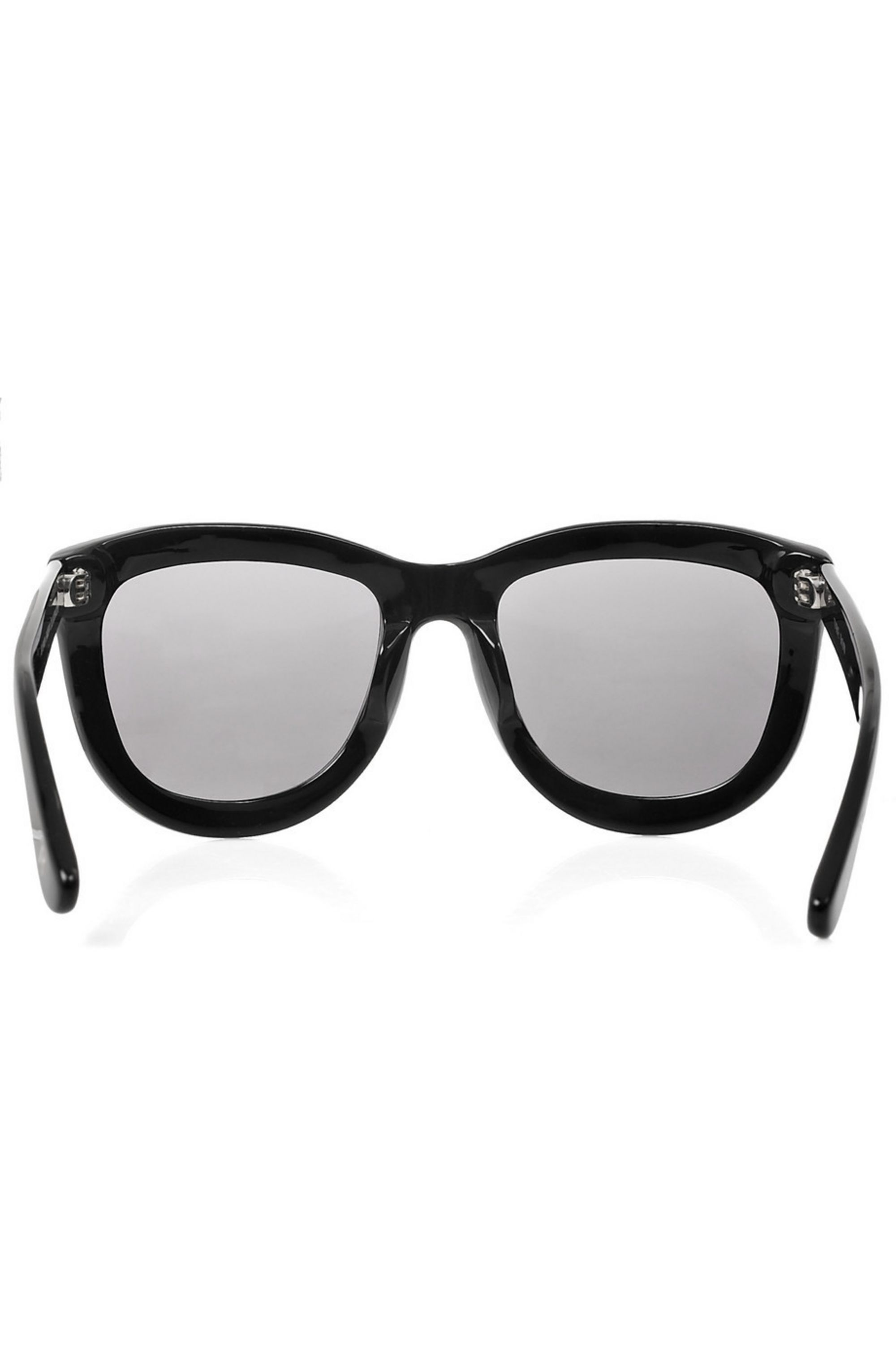 The Row Curved square-frame acetate sunglasses