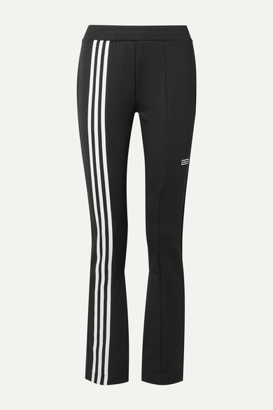 TLRD striped stretch jersey track pants