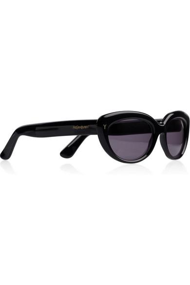 Yves Saint Laurent. Cat eye acetate sunglasses