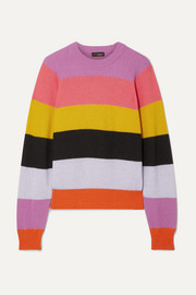 Stine Goya Magdalena striped knitted sweater