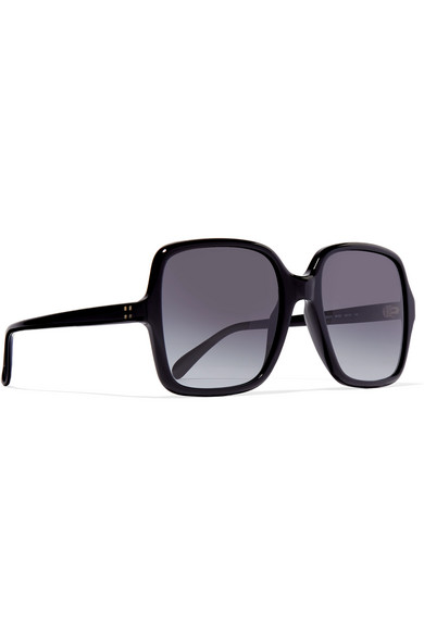 3d7d04d7512fc Givenchy. Oversized square-frame acetate sunglasses