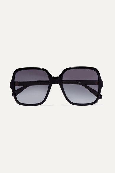 Givenchy Sunglasses Oversized square-frame acetate sunglasses
