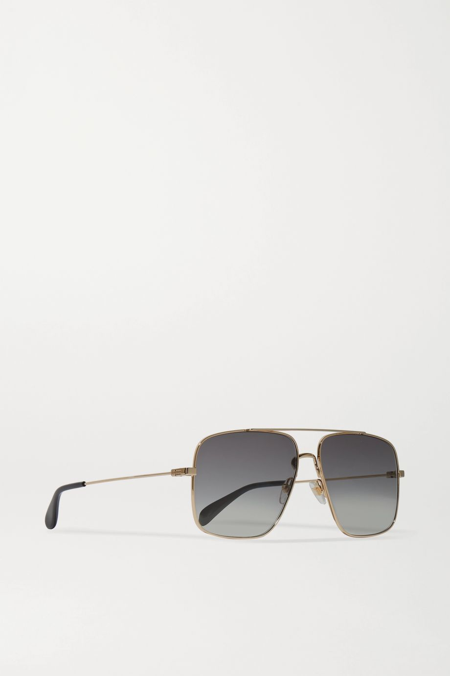Givenchy Oversized aviator-style gold-tone sunglasses
