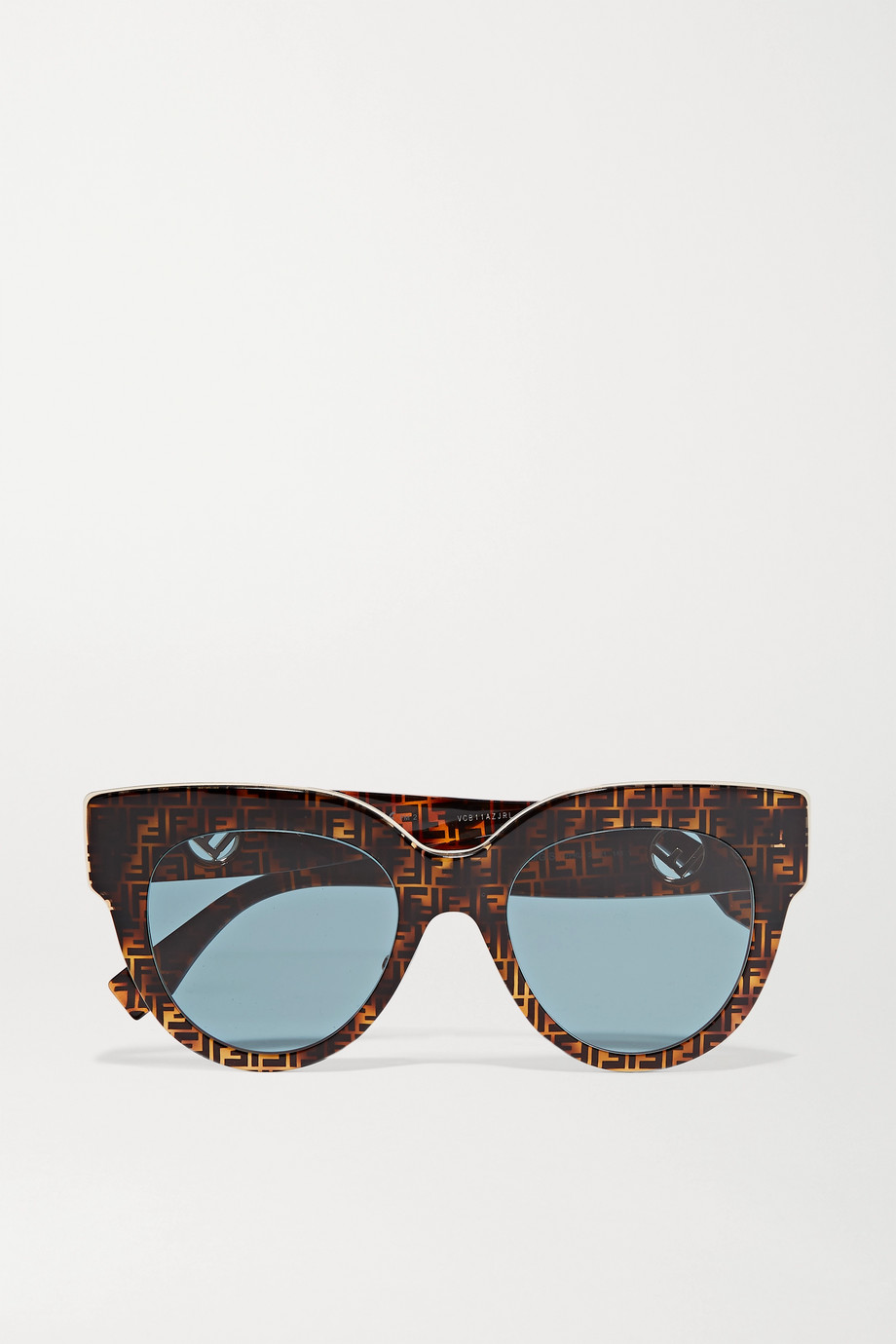 Fendi Oversized printed D-frame acetate sunglasses