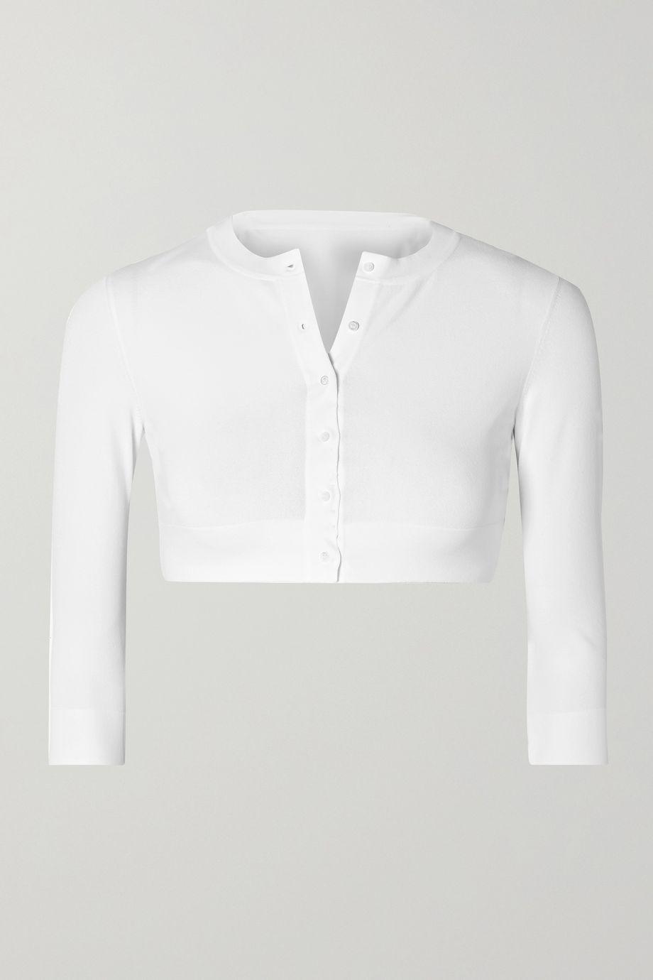 Alaïa 针织短款开襟衫