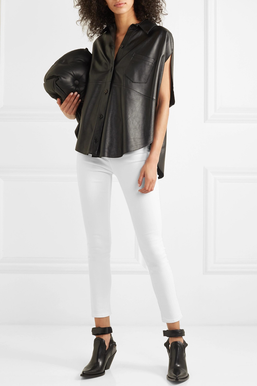 rag & bone Jean skinny raccourci taille haute