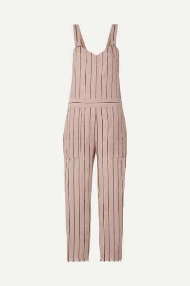 Nina Striped Linen Blend Jumpsuit by Rag & Bone