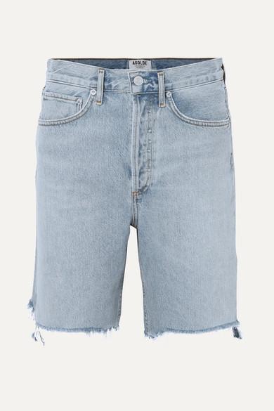 215c49c6c2 AGOLDE | '90s distressed denim shorts | NET-A-PORTER.COM