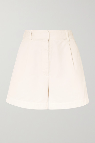 Nili Lotan Shorts Talyn cotton-gabardine shorts