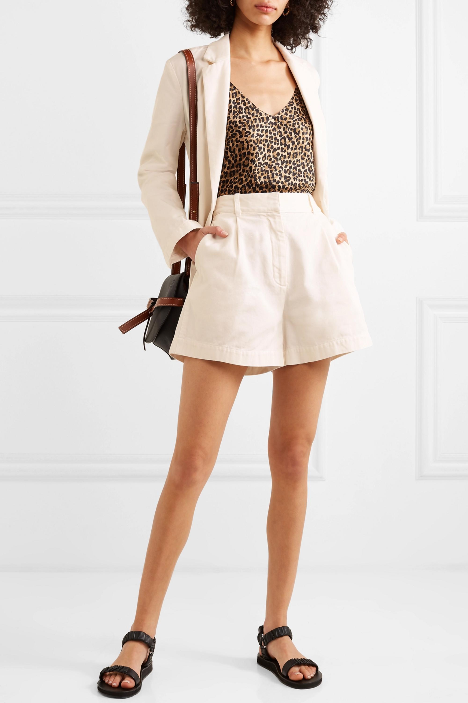 Nili Lotan Talyn cotton-gabardine shorts