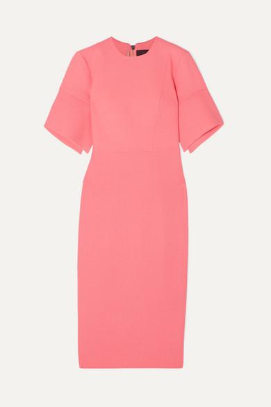 Bancroft Wool Crepe Midi Dress by Roland Mouret
