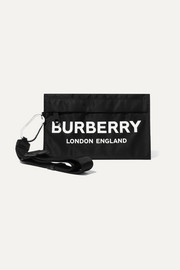 Burberry Printed nylon pouch