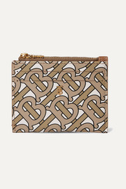 Simone printed leather cardholder