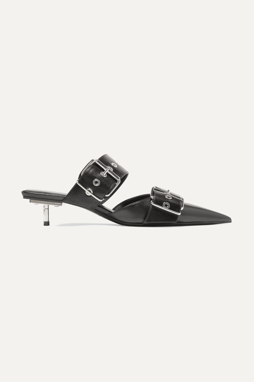Balenciaga Belt leather mules