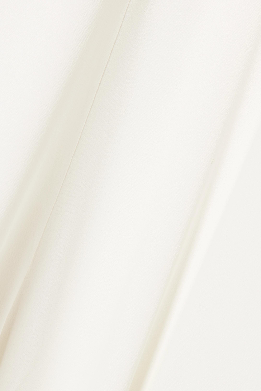 Vanessa Cocchiaro The Tina wrap-effect matte-satin jumpsuit