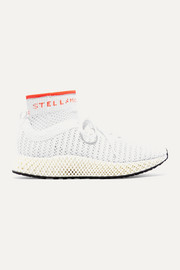 adidas by Stella McCartney Baskets en Primeknit à logo Alphaedge 4D