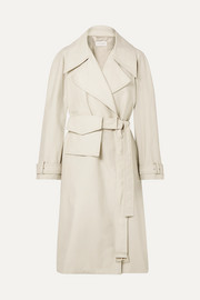LOW CLASSIC Cotton-blend trench coat