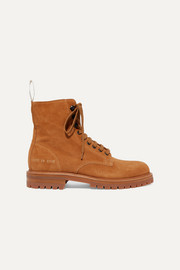 Common Projects Combat suede ankle boots