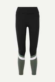 Tour color-block stretch leggings