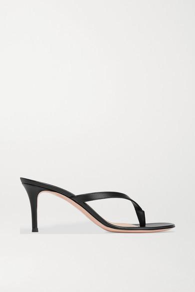 e71dbf2dda Gianvito Rossi | Calypso 70 leather sandals | NET-A-PORTER.COM