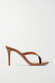 Gianvito Rossi Calypso 70 leather sandals