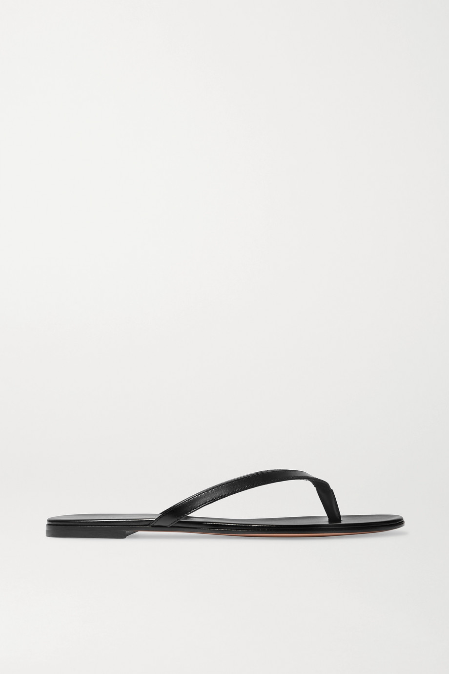Gianvito Rossi Leather flip flops