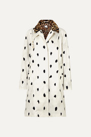 Burberry Trenchcoat aus Baumwoll-Twill mit Animal-Print