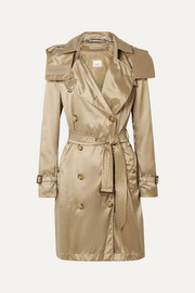 Burberry The Kensington hooded ECONYL trench coat