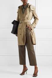 The Kensington hooded ECONYL trench coat