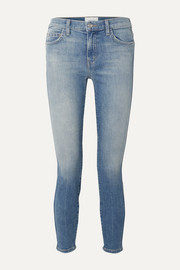 The Caballo cropped high-rise skinny jeans