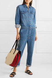 The Crew denim jumpsuit