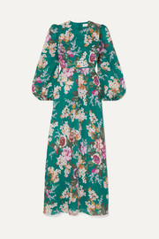 Zimmermann Allia floral-print linen maxi dress