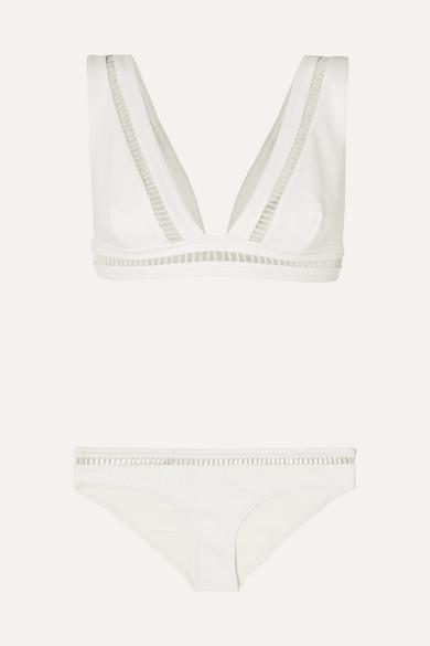 Allia Cutout Bikini by Zimmermann