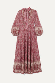 Zimmermann Amari paisley-print cotton-voile maxi dress